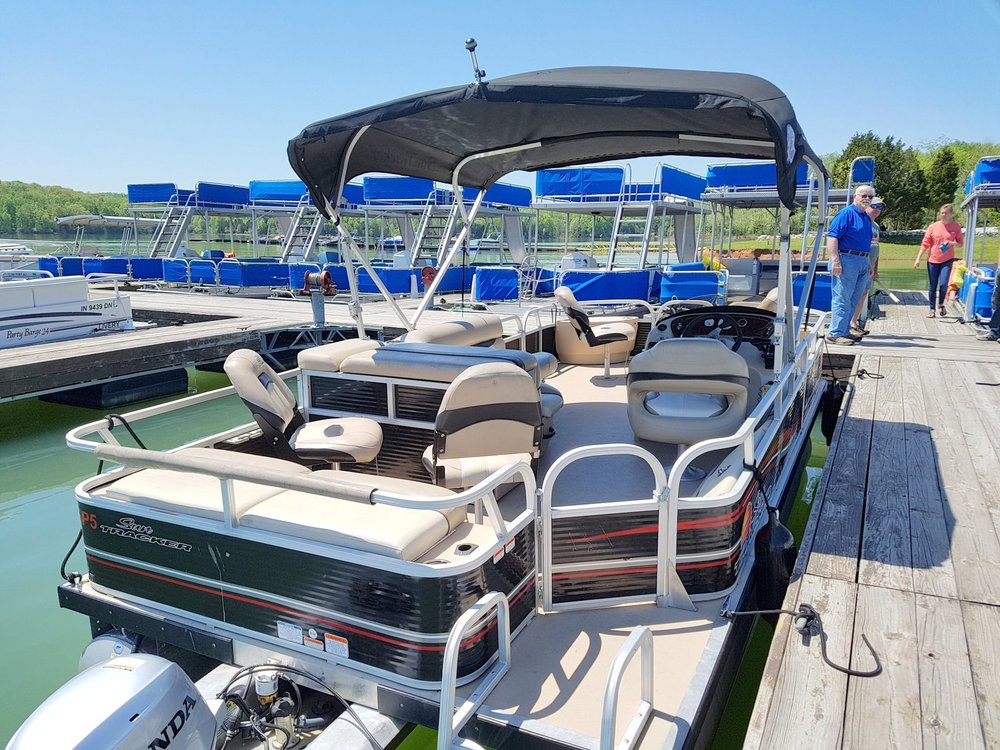 8 Passenger Fishing Barge Pontoon