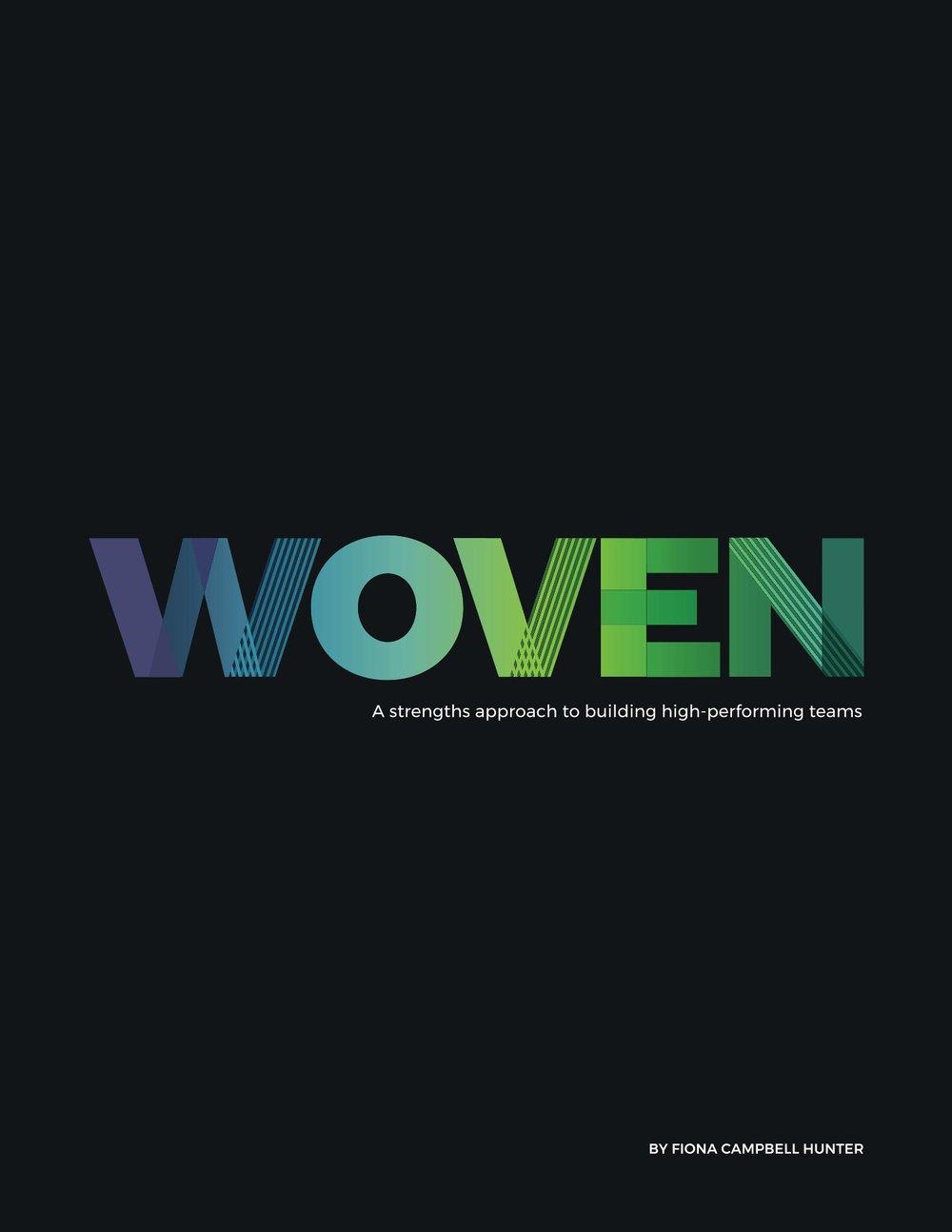 WOVEN - available on Amazon