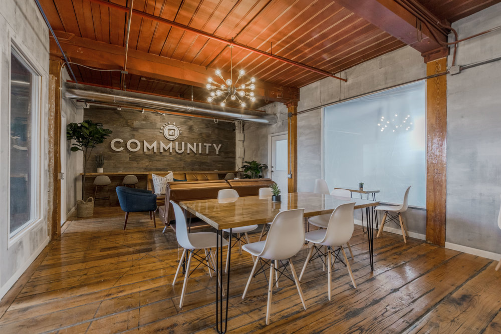 Beautifully Designed Coworking Environment
