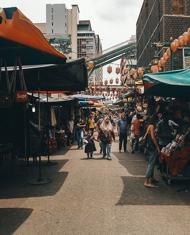 Ask anyone who's been to Malaysia about Petaling Street, and they will cite it as a shopper's haven if you're into that of course. It is also filled with an array of local cuisine that you could sample, kind of feels like an outdoor Costco!