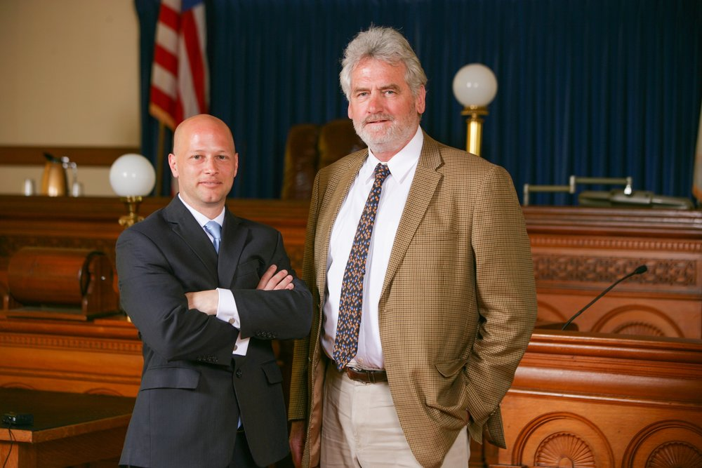 Attorneys Terrence A. Low and Anthony J. Canata