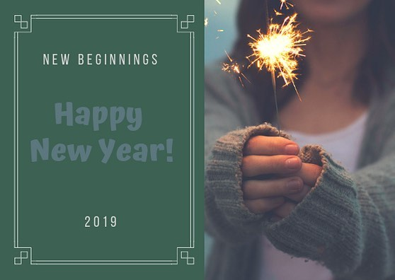 A new year means new beginnings! Now is the perfect time to make charge of your life and make it happen!  #delectableliving #happynewyear #2019 #newyearnewyou #makeithappen #takecharge #lifeisbeautiful #lifeisdelicious