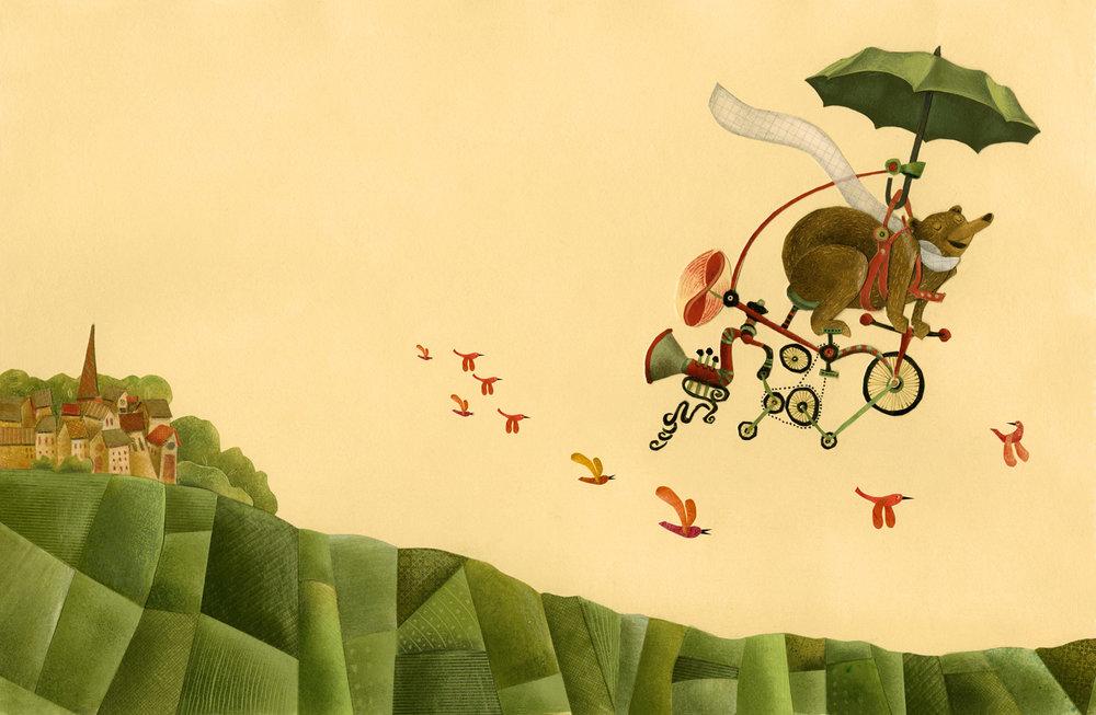 Bear aloft