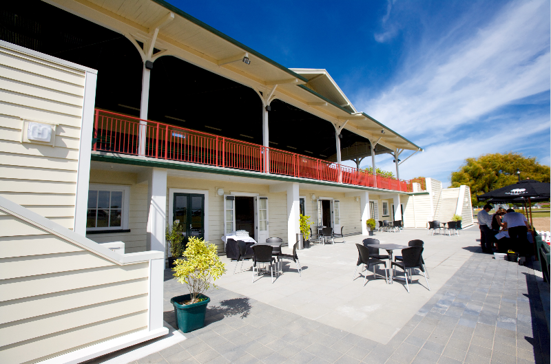 THE GRANDSTAND - Within the grounds of Claudelands Event Centre, The Grandstand is a unique, stylish function space. The old restored Grandstand could be the ideal venue for a product launch, family or corporate gathering and is already a popular wedding venue.