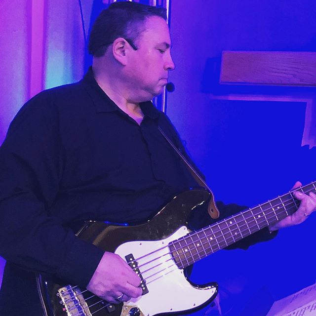 Darryl laying down that bass line! Always a great concert when he's playing!