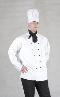 Chef jackets   Sizes: XS-3XL