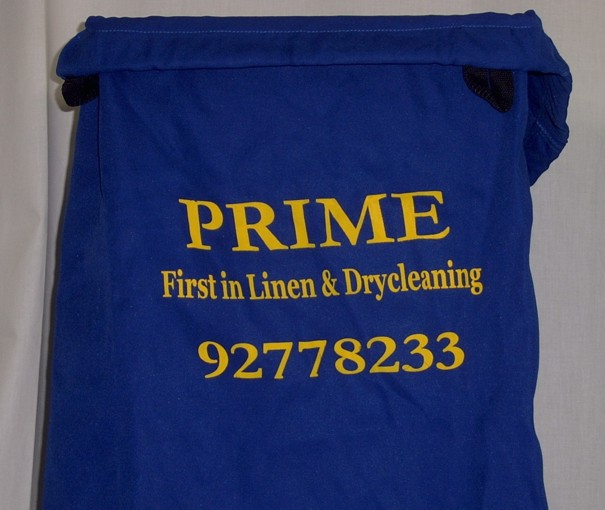 Personalized laundry bags   Available customization for your logo or name in your selected colour and size. Can be printed or embroidered.
