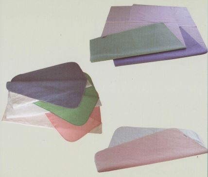 Under pads   Regular polyurethane pads or Tufftex PVC pad  - With wings  - Without wings