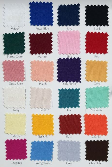 Host Supplies is the sole stockist of the true MJS Caress in Australia - This MJS product feels better and performs better than any other spun polyester product on the market.Our 100% Murata Air Jet Spun (MJS) product is the leader in the polyester market. When compared to the competitor's ring spun or fillament yarn, the stain release superiority, pilling resistance, color retention advantage,