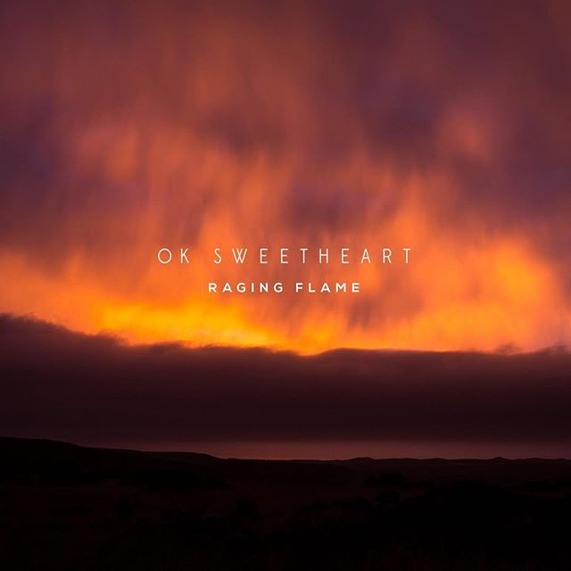 "Pay what you want for our new @oksweetheart single ""Raging Flame"" out today. Link in bio. Written by @erinkaustin @buffler @alex_westcoat and @michaelgporter produced and mixed by @ryanbearcreek at @bearcreekstudio engineered by Taylor Carroll Mastered by Jeff Lipton @peerlessmastering Assistant Engineer Maria Rice Photo by @carmenholt Design by Mary Rauzi . . . . . #seattle #seattlemusic #seattlemusicscene #ragingflame #12/17/17 #newsong #newmusic #grammys #recordingacademy #popmusic #greatguitartone #omgthosedrums"