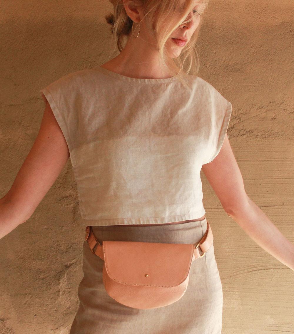 1. Shop Mila - Nude Amelia Fanny Pack close up web .jpg
