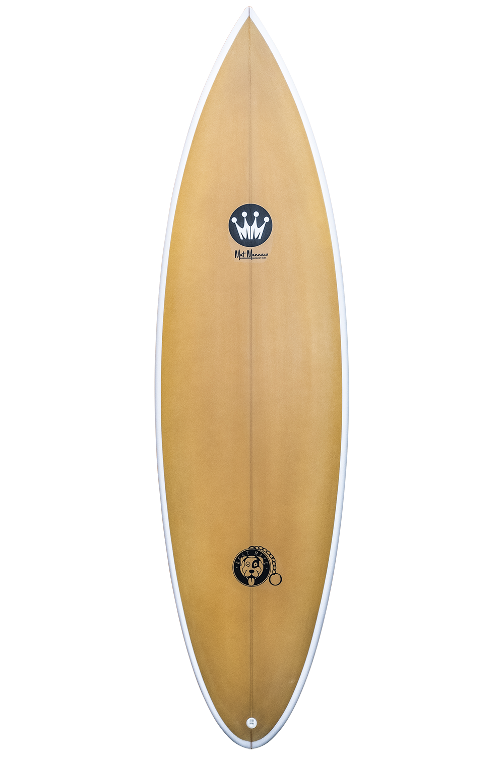 "Shape : Best Mate   Length:  6'6""   Width:  19 7/8""   Thickness:  2 3/4""   Volume:  38L   Fins:  Thruster FCS II   Tail Shape:  Pin"
