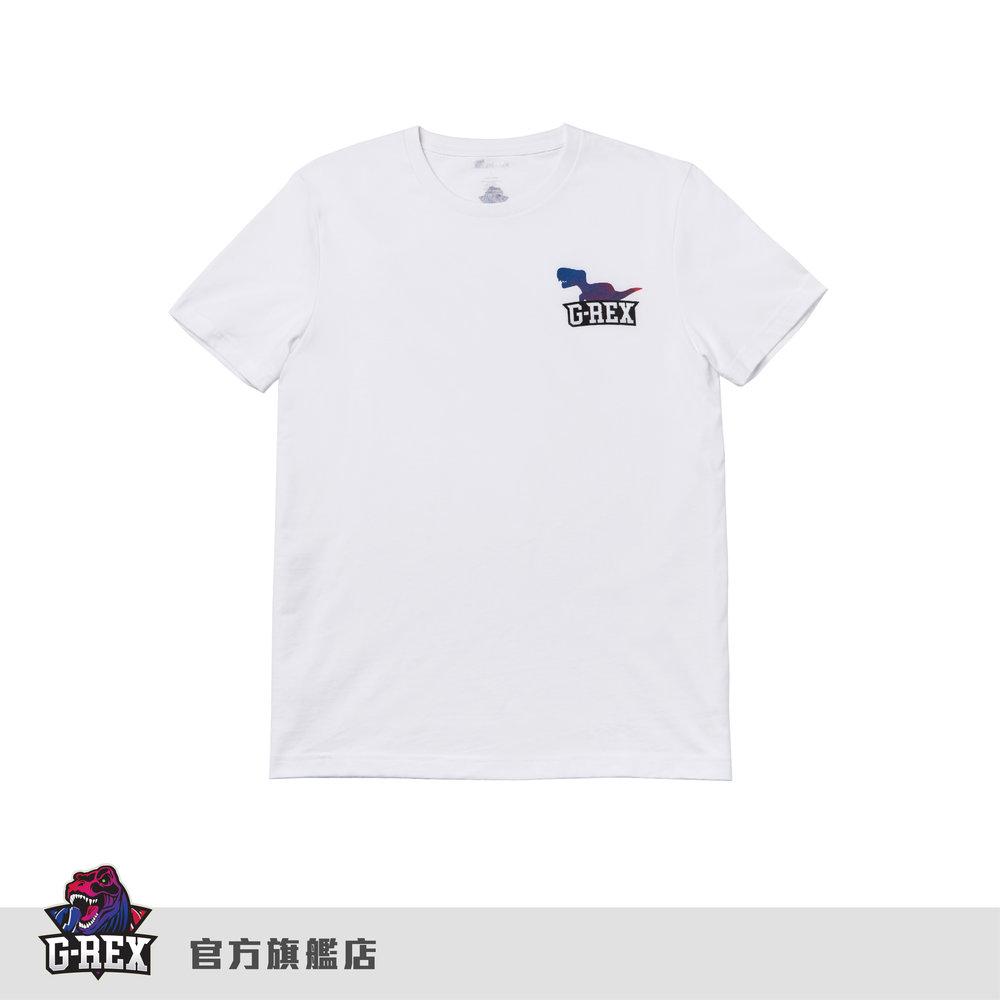[ G-Rex] 官方圓領白T      HKD $130