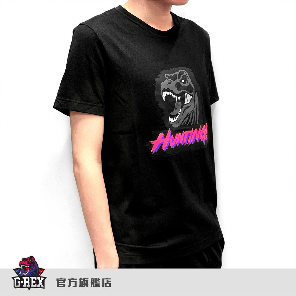 [G-Rex] 官方圓領龍頭T      HKD $130