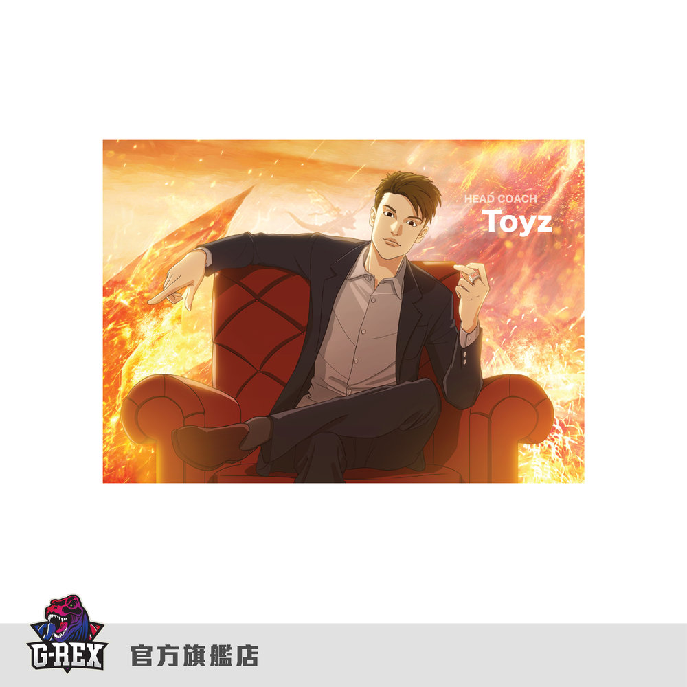 [G-Rex] 2018年春季賽-漫畫造型明信片組      HKD $30