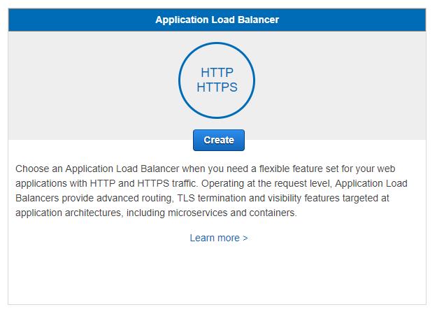 Load balancer template