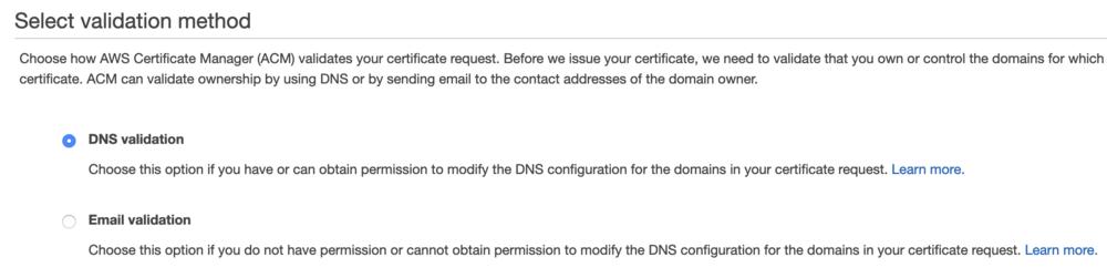 Certificate - step 3