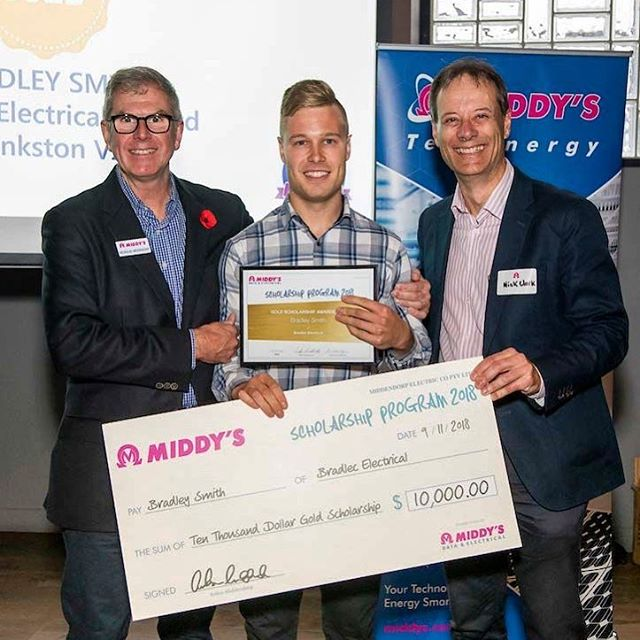 Thanks again to Middys for this award! 🥇🥇💥💥 @middys_electrical