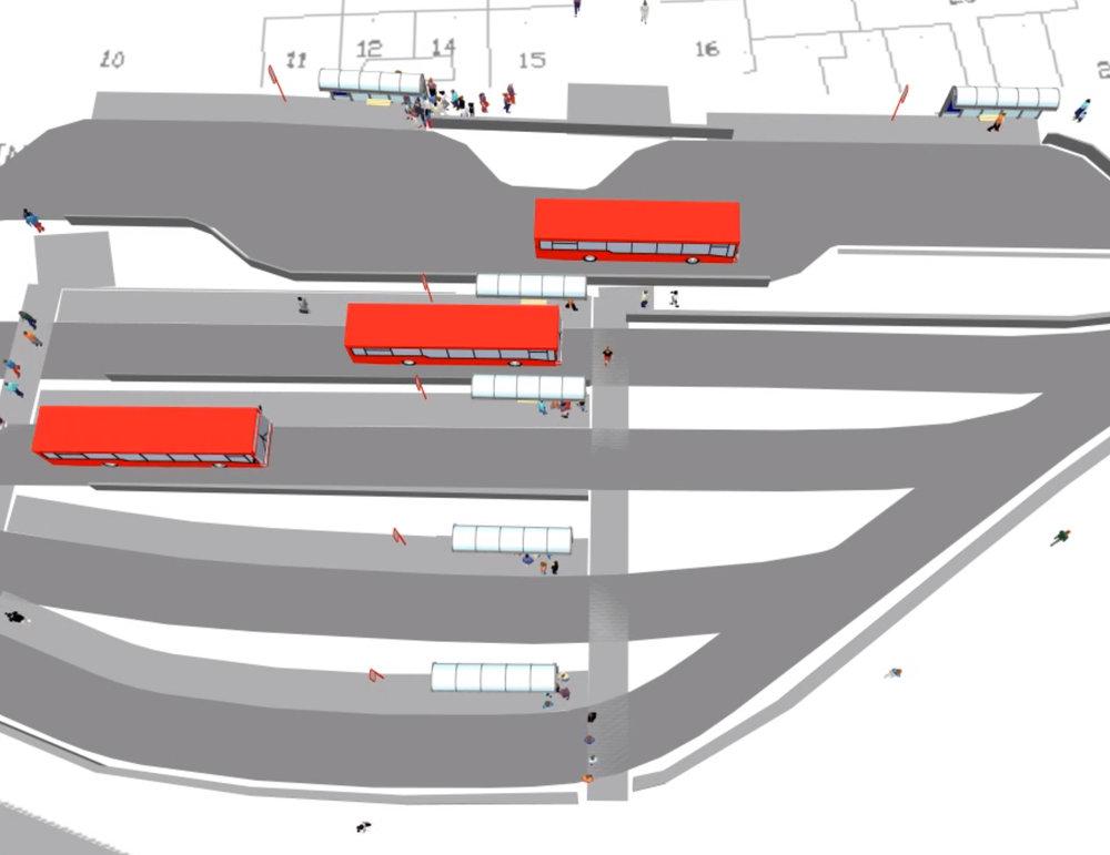 Public Transport Interchange Detail