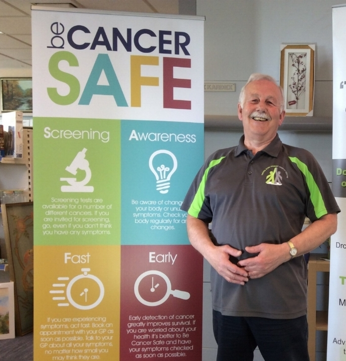Be Cancer Safe -North Derbyshire - Be Cancer Safe is a community approach to improving cancer survival in our area. We want everyone in North Derbyshire to know about the signs and symptoms of cancer and what screening is available to them. Our aim is to spread theBe Cancer Safe message as far as we can by using social media and delivering 'Information Sessions'to local organisations and businesses. We will then ask those people we speak with to pledge to champion the Be Cancer Safe message in their own communities.