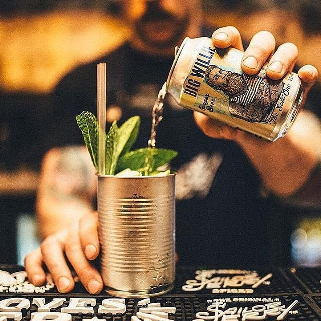 In a pinch a good sailor can make any vessel work. Find Big Willie at @thecaberetvoltaire.  #bigwilliedrinks #gingerbeer #productlaunch #brandlaunch #drinks #drink #bar #bartender #mixologist #mixology #cocktail