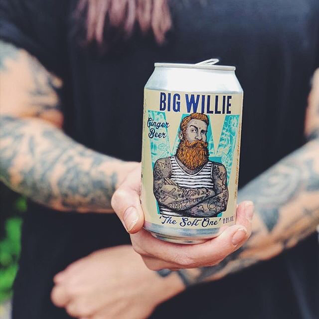 We're docking at the #MindfulDrinkingFest at The Briggait tomorrow 12-6pm, 13th Oct. Come join the crew! . Pic credit and more info: @joinclubsoda . #bigwillie #bigwilliegingerbeer #bigwilliedrinks #clubsoda #thebriggait #glasgow