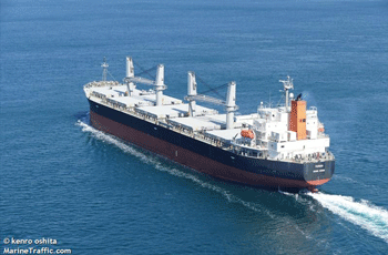 50.806 dwt bulk carrier built in 2010 by Oshima Shipbuilding in Saikai, Japan. Manager: Fair Field Shipping CO LTD Flag: Hong Kong AIS Type: Cargo ship Ownership: 75% Fixed on a 10-13 months charter to Western Bulk Carriers with commencement 11th May at USD 11.500 per day.