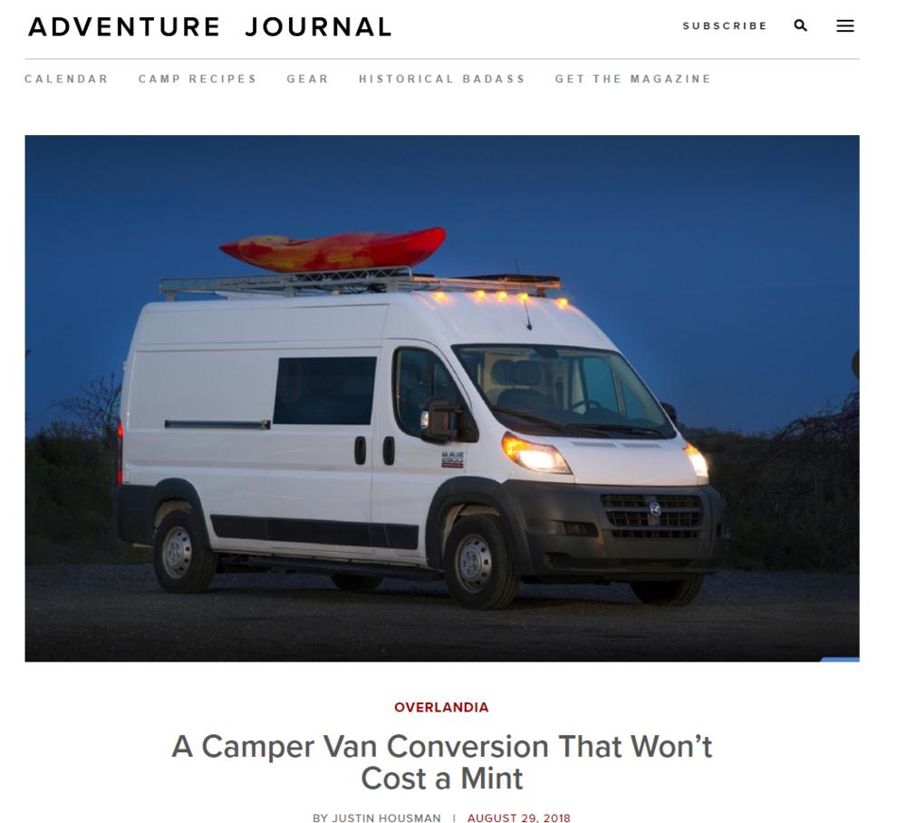 906863a97af Press — Off Grid Adventure Vans