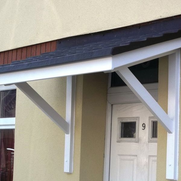 Merveilleux The Medway Overdoor Canopy   The Medway Door Canopy Combines Traditional  Styling With Its Simple Solid