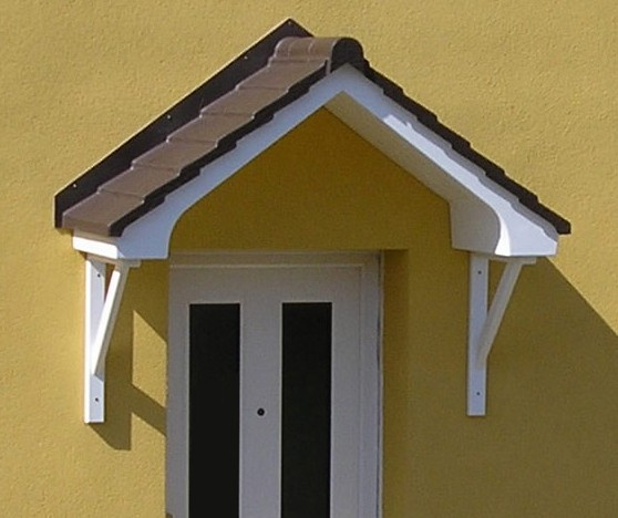 The Bovey Overdoor Canopy   The Bovey Over Door Canopy Is An Apex Style Of  Canopy