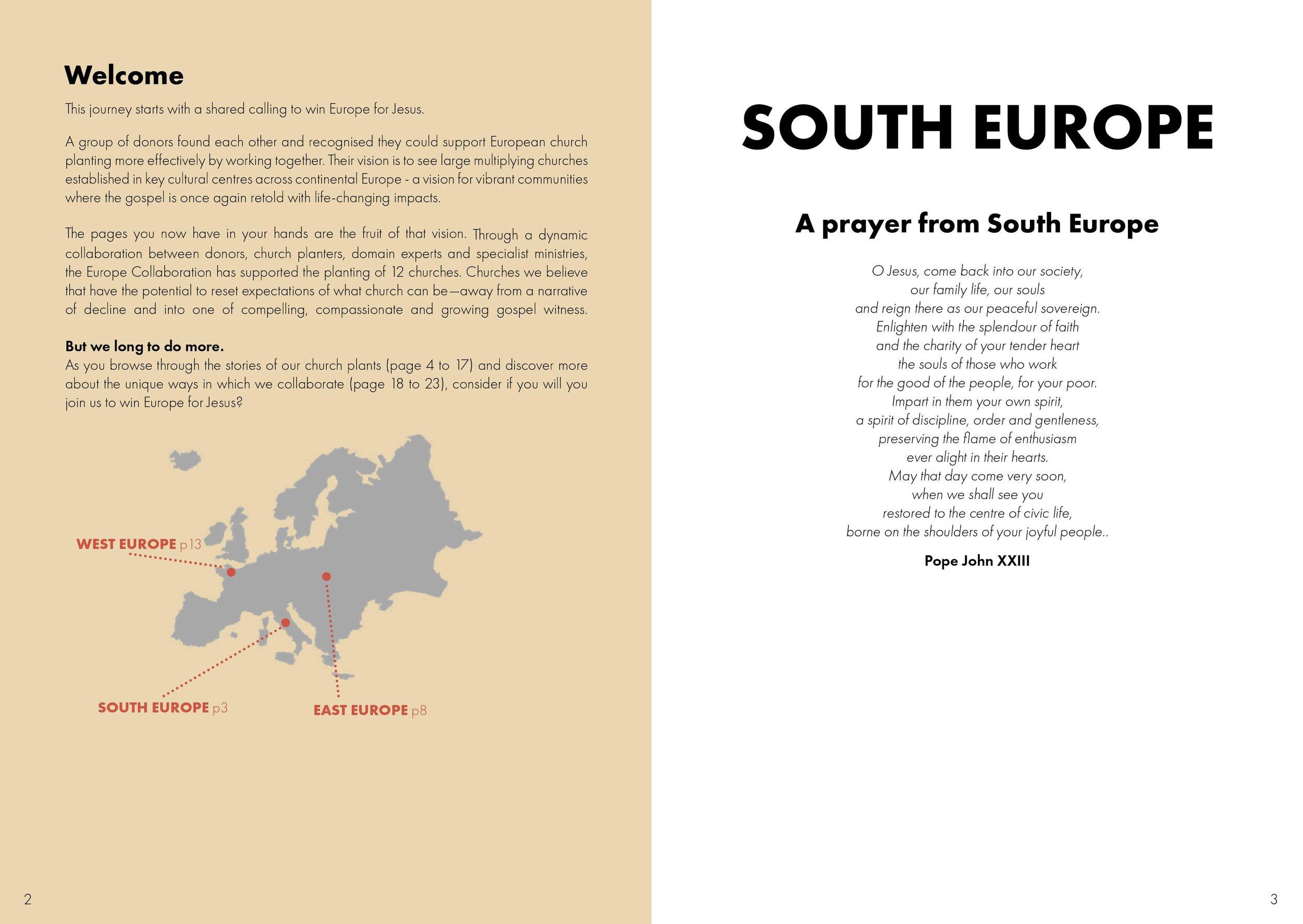 Portfolio — Europe Collaboration