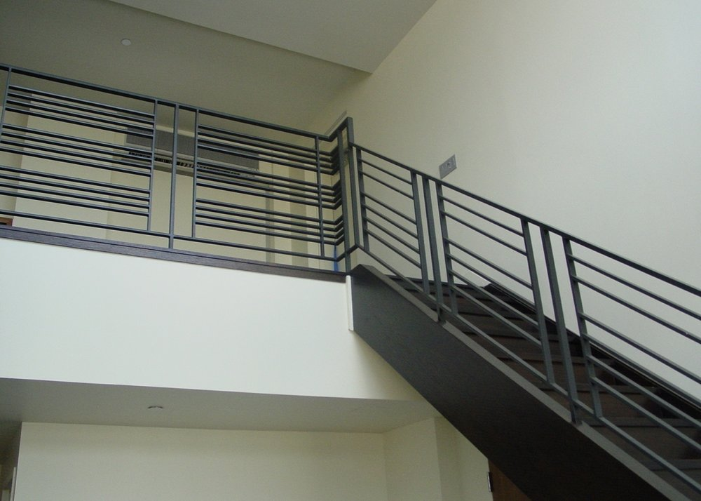 Steel Stair Rail