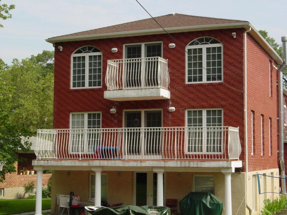 Steel Porch Rail
