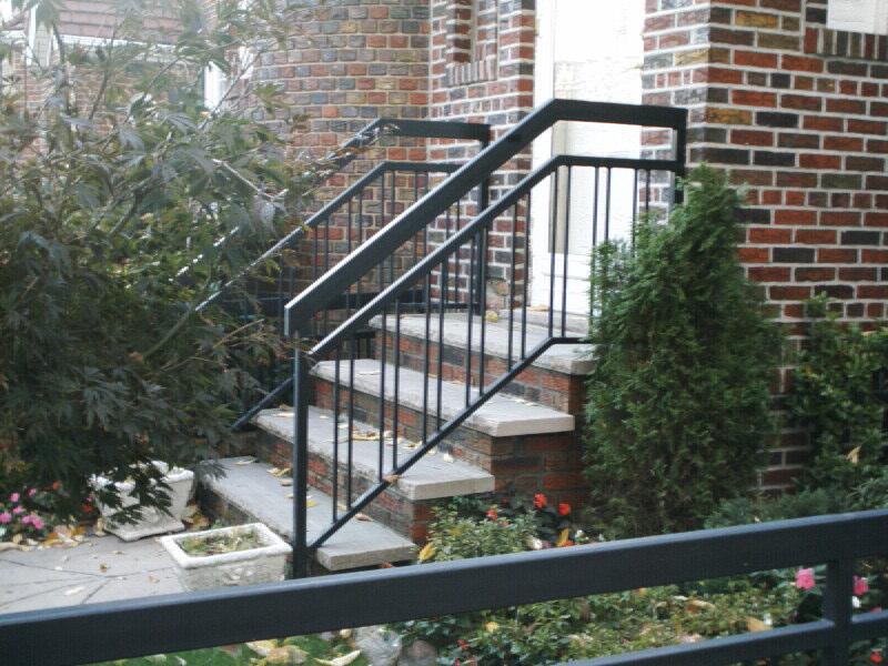 Steep Step Rail
