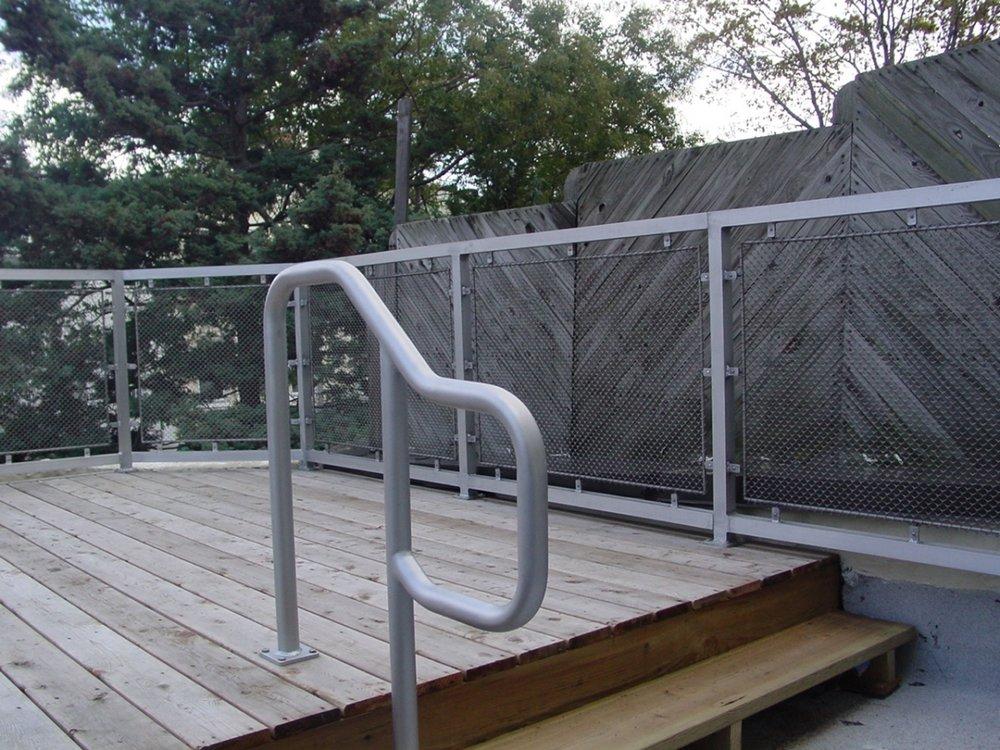 Aluminum Stair Rail