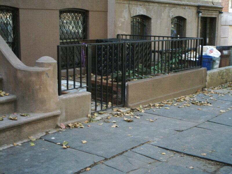 Ornamental Steel Bar Rail