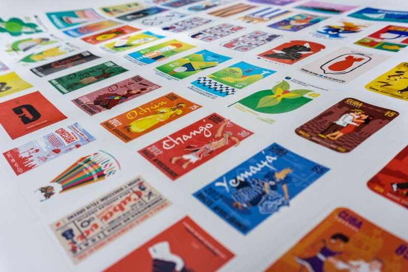 Stamp Postal Design | Pocket Posters | Eureka Creativos