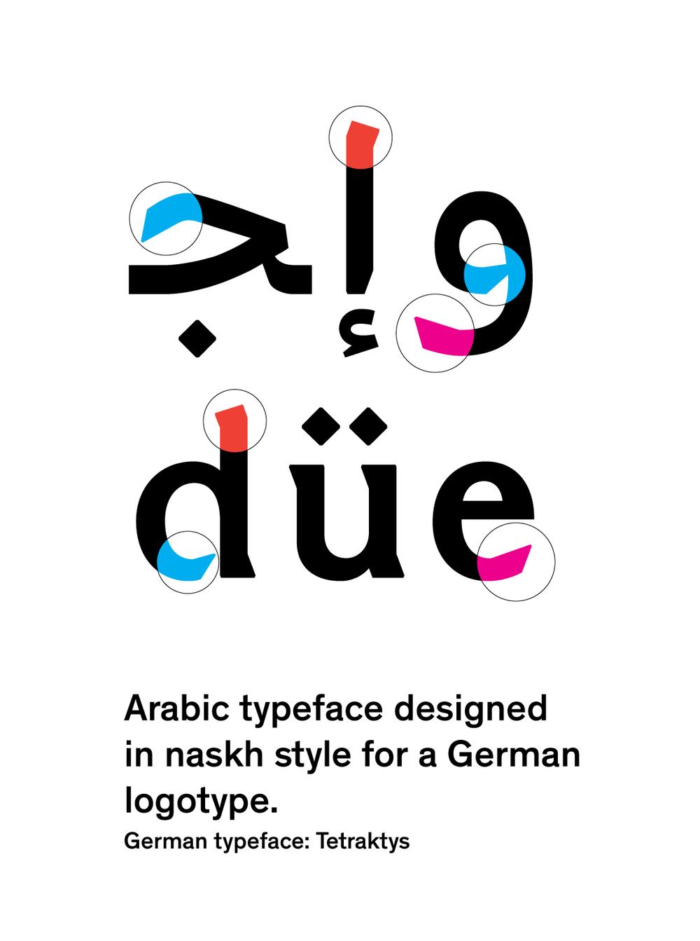 JHA  Marrokanisch typeface