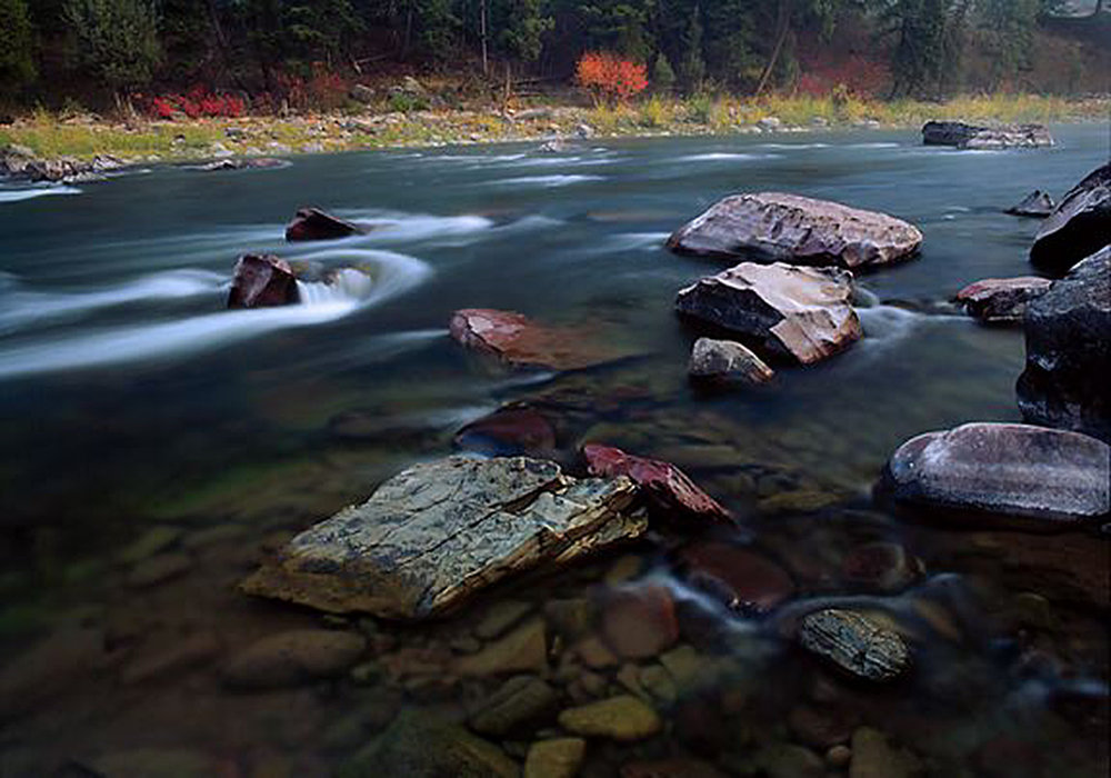Blackfoot River in Montana. I-186 would help protect clean water in Montana.