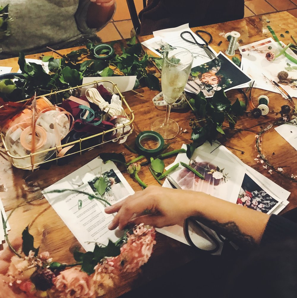 Firain-Ivy-Pip-Rose-Flower-Crown-Workshop