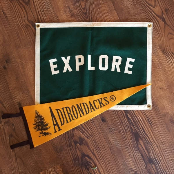 Pennants and banners $30 and up.