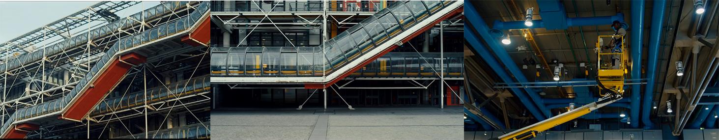 Stills from Centre Pompidou