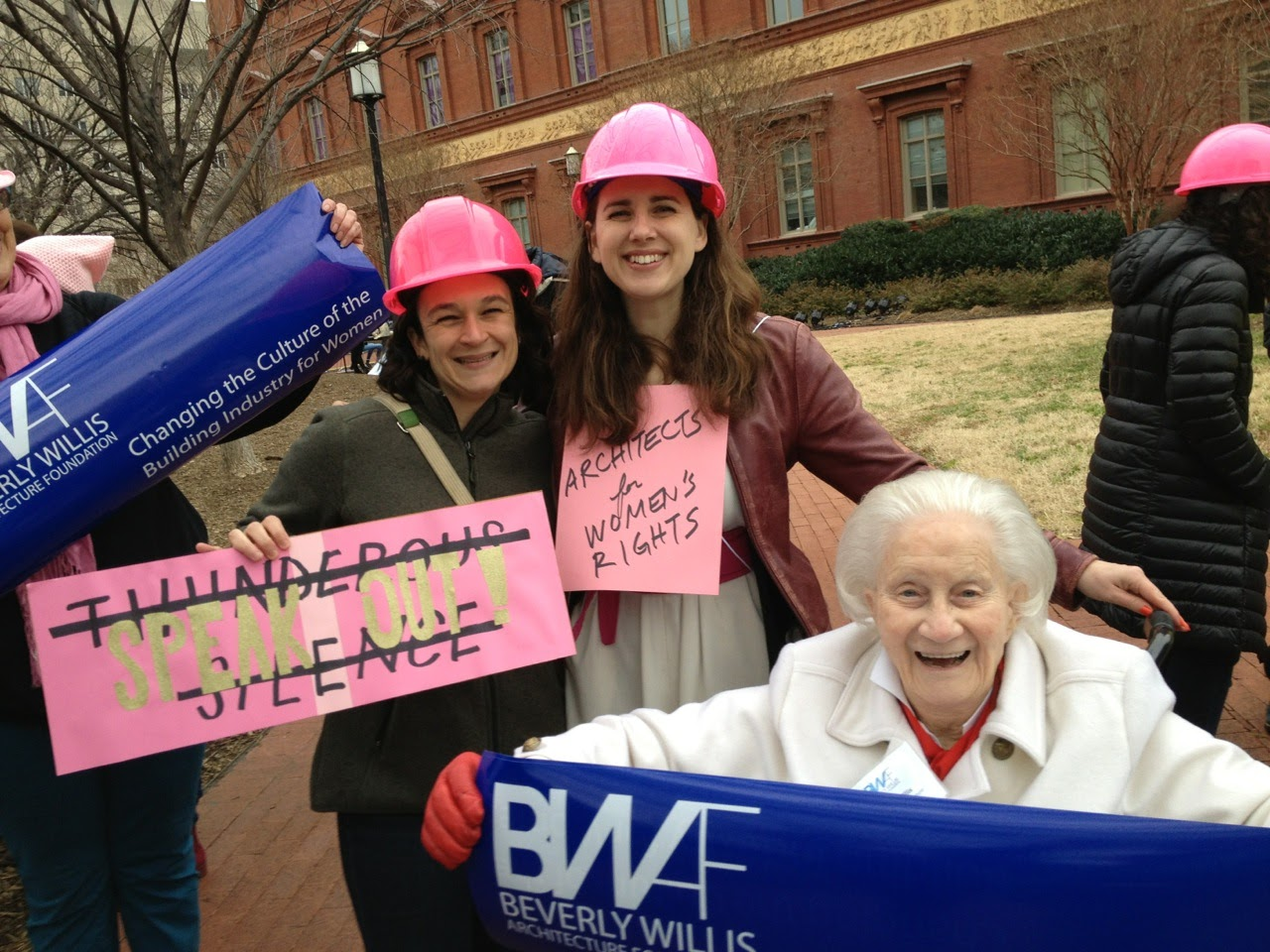 Allie O'Neil, Karen Kubey, Beverly Willis @NBM for Women's March_21Jan2017