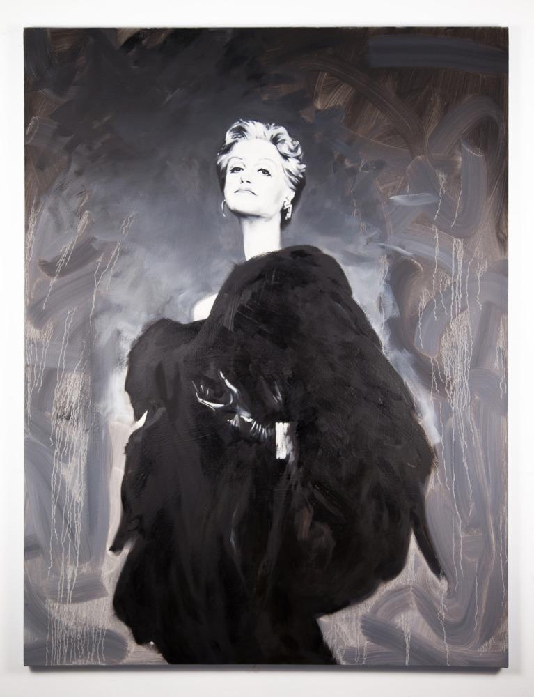 Portrait of Angela Lansbury by the artist Sam McKinniss