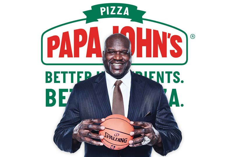Image result for shaq papa johns