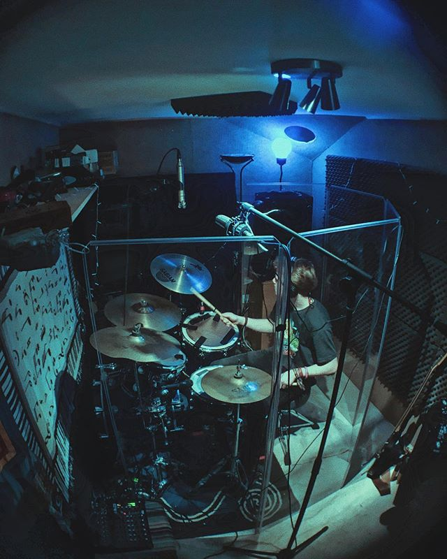 @isabellahart_photography 💙  #drum #drummer #photography #fisheye #music #love #live