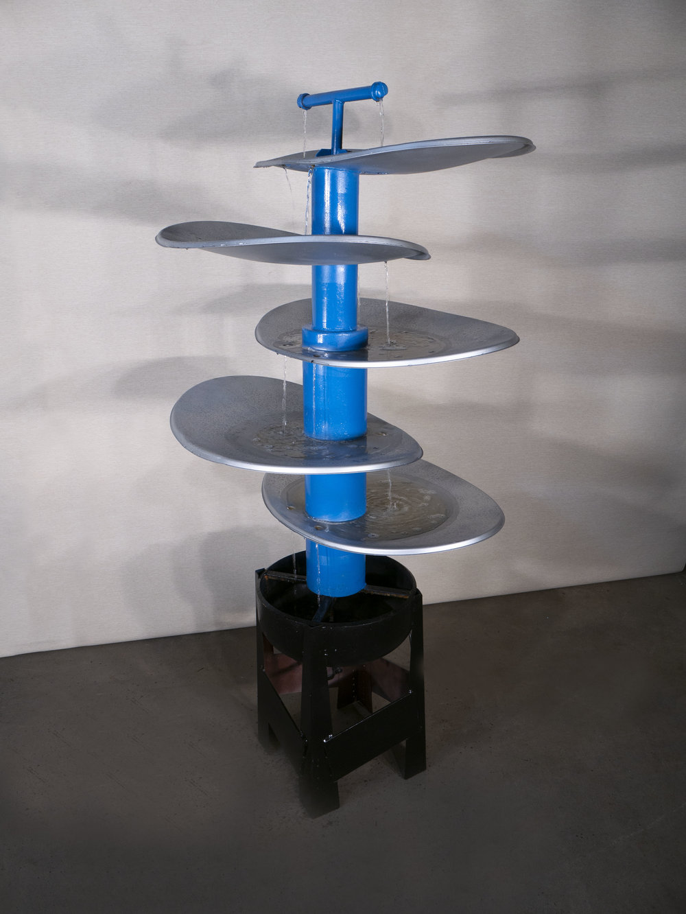 5 Tier Water Fountain   MyInspirationEarth  (James Dickson)  Functional Art
