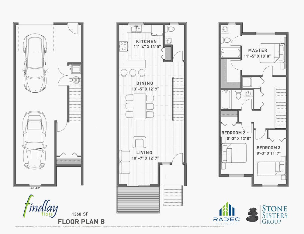 Floor Plan B -