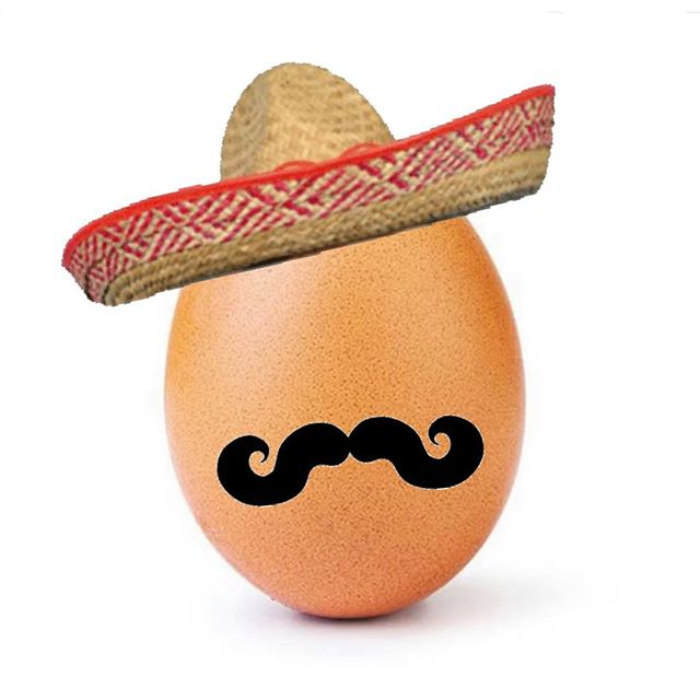 Señor Egg already took down Kylie Jenner!😏