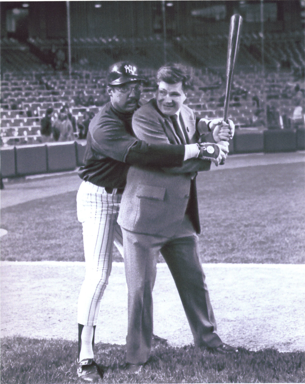 Ed and Reggie at Bat.jpg